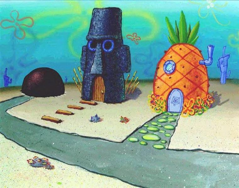 pin bikini bottom background ottom spongebob on pinterest. Black Bedroom Furniture Sets. Home Design Ideas